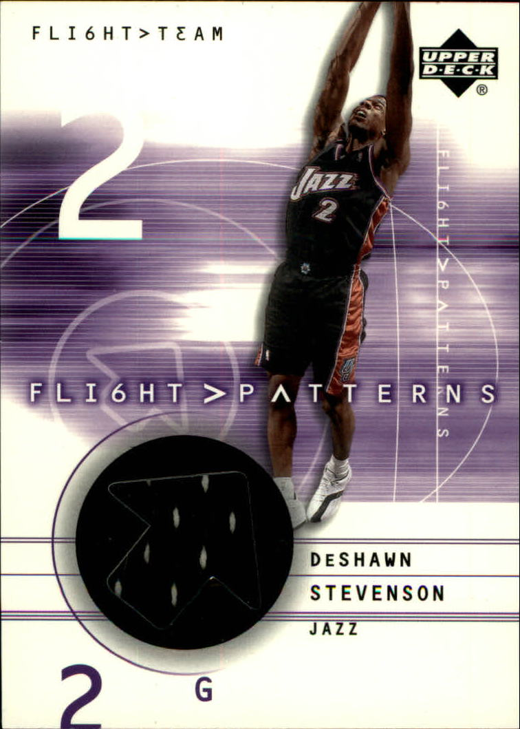2001-02 Upper Deck Flight Team Flight Patterns #DS DeShawn Stevenson
