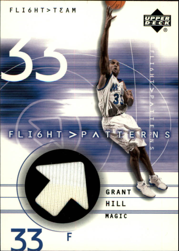 2001-02 Upper Deck Flight Team Flight Patterns #GH Grant Hill