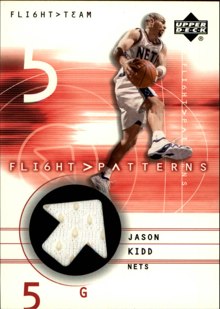 2001-02 Upper Deck Flight Team Flight Patterns #JK Jason Kidd