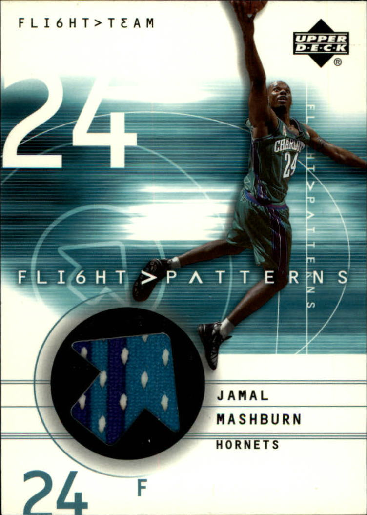 2001-02 Upper Deck Flight Team Flight Patterns #JM Jamal Mashburn
