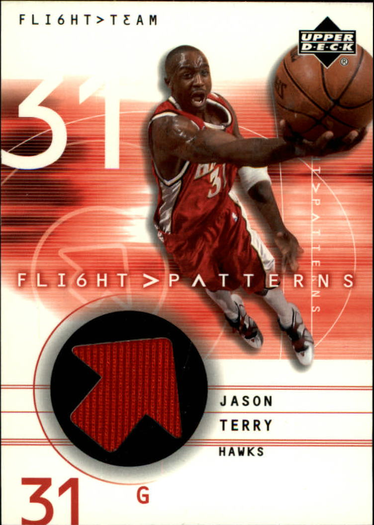 2001-02 Upper Deck Flight Team Flight Patterns #JT Jason Terry