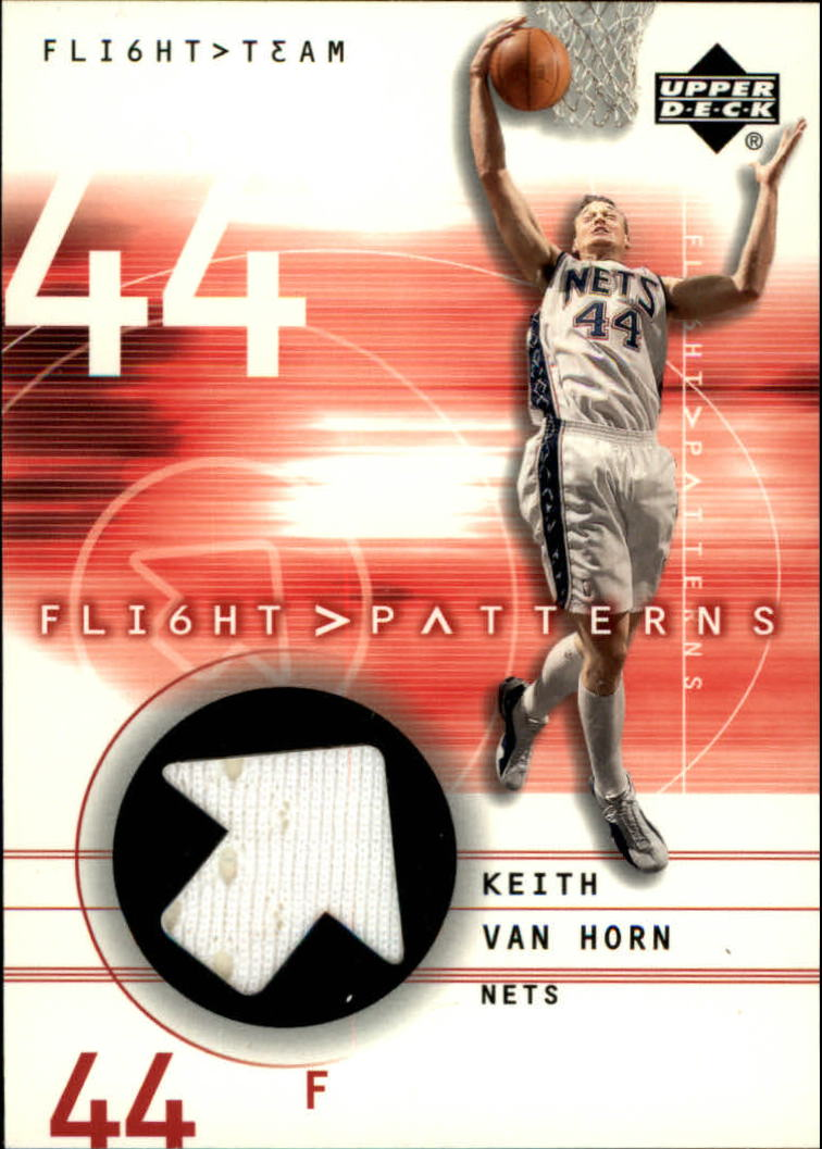 2001-02 Upper Deck Flight Team Flight Patterns #KV Keith Van Horn