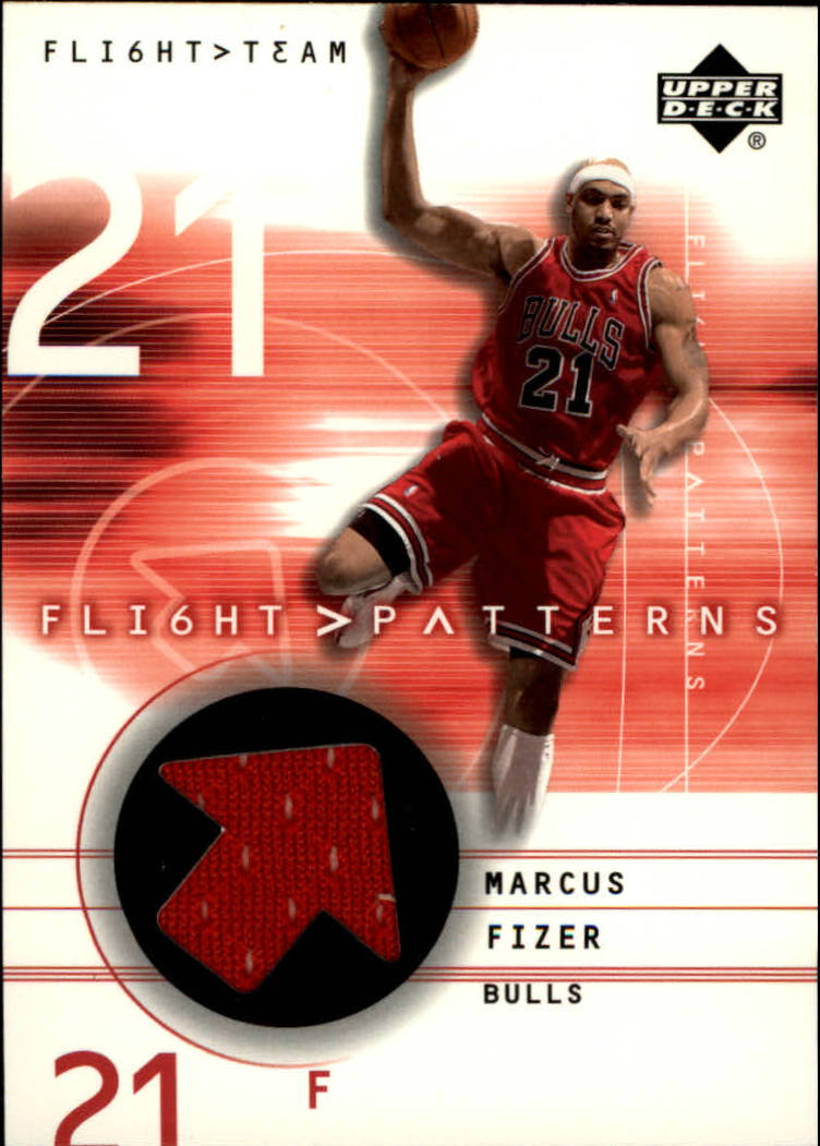 2001-02 Upper Deck Flight Team Flight Patterns #MF Marcus Fizer