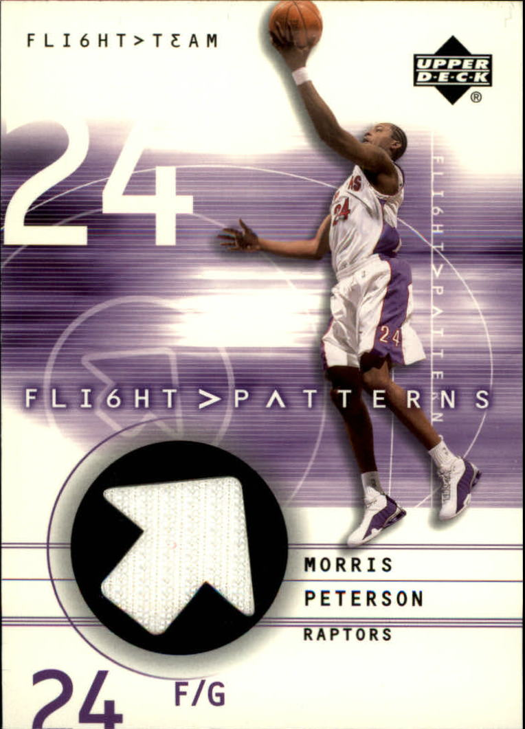 2001-02 Upper Deck Flight Team Flight Patterns #MP Morris Peterson