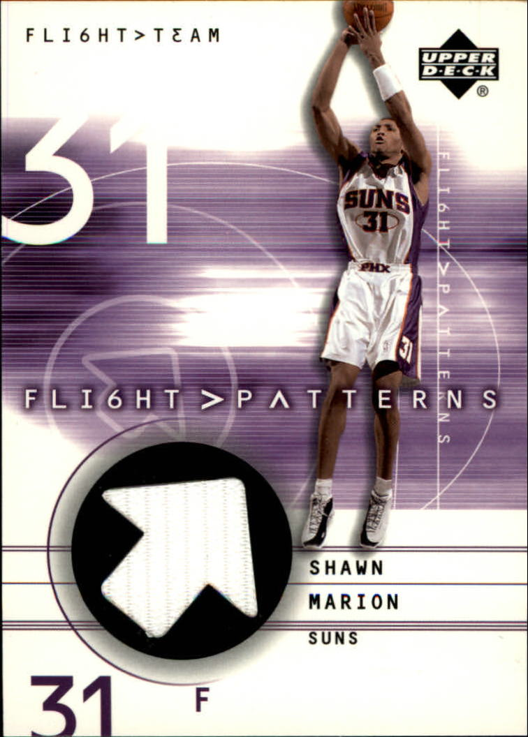 2001-02 Upper Deck Flight Team Flight Patterns #SH Shawn Marion