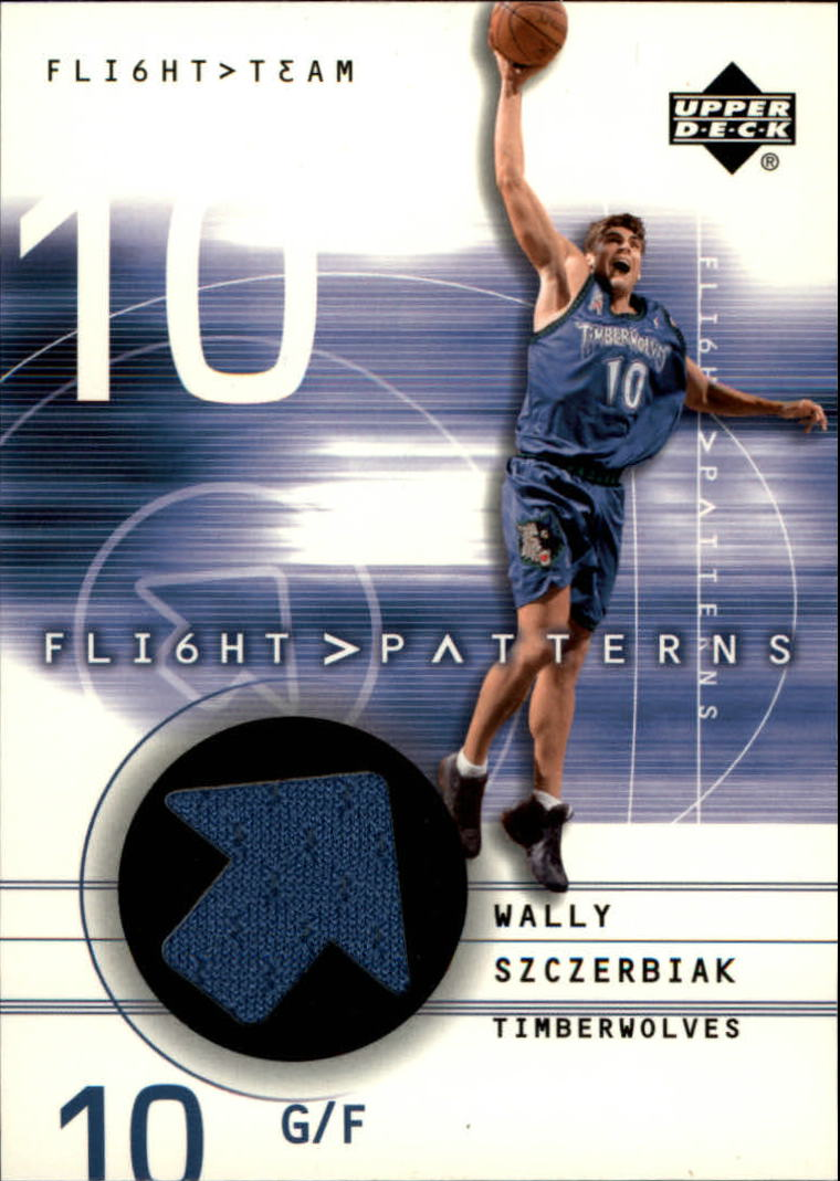 2001-02 Upper Deck Flight Team Flight Patterns #WS Wally Szczerbiak