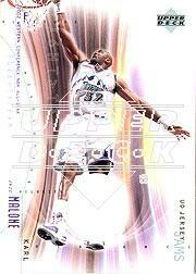 2001-02 Upper Deck Flight Team UD Jersey Jams #KMJ Karl Malone