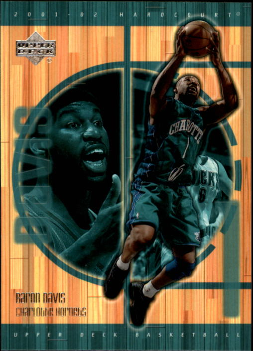 2001-02 Upper Deck Hardcourt #8 Baron Davis