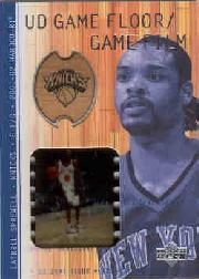 2001-02 Upper Deck Hardcourt UD Game Film/Floor #LSF Latrell Sprewell