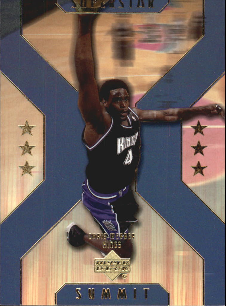 2001-02 Upper Deck Superstar Summit #SS4 Chris Webber