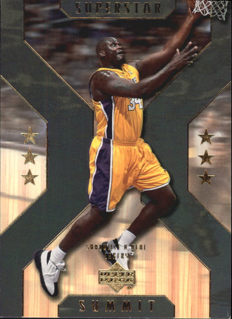 2001-02 Upper Deck Superstar Summit #SS5 Shaquille O'Neal