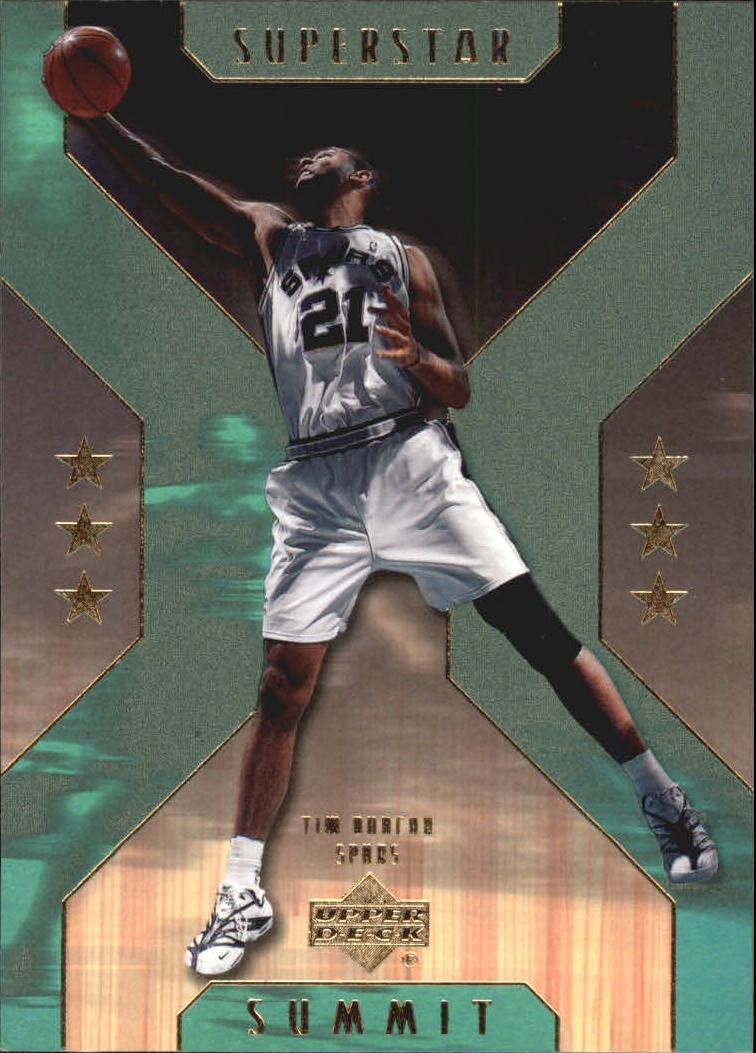 2001-02 Upper Deck Superstar Summit #SS6 Tim Duncan