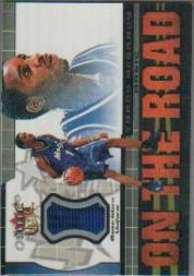 2001-02 Ultra On the Road Game Worn #6 Tracy McGrady