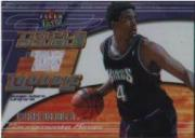 2001-02 Ultra Triple Double Trouble Game Worn #4 Chris Webber