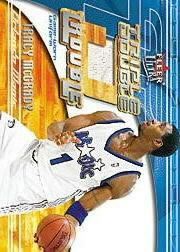 2001-02 Ultra Triple Double Trouble Game Worn #9 Tracy McGrady