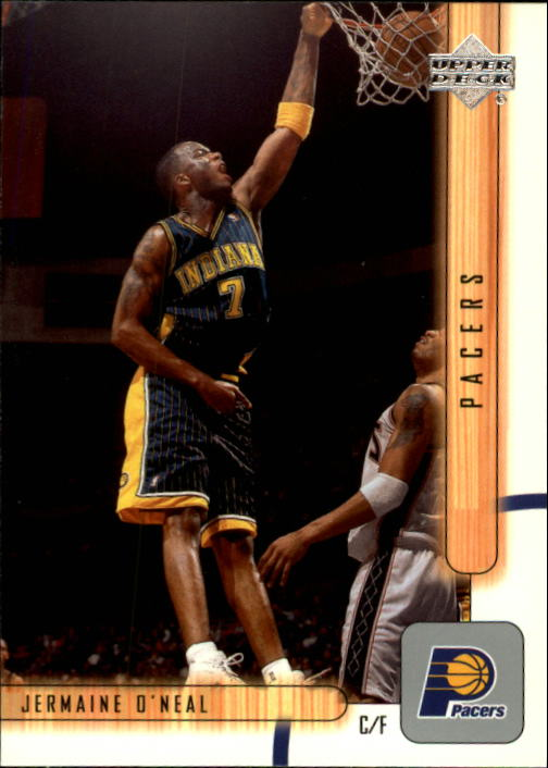 2001-02 Upper Deck #63 Jermaine O'Neal