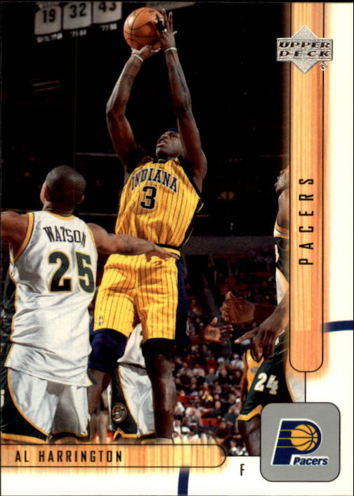 2001-02 Upper Deck #290 Al Harrington
