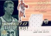 2001-02 Upper Deck 15000 Point Club Jerseys #LB15K Larry Bird