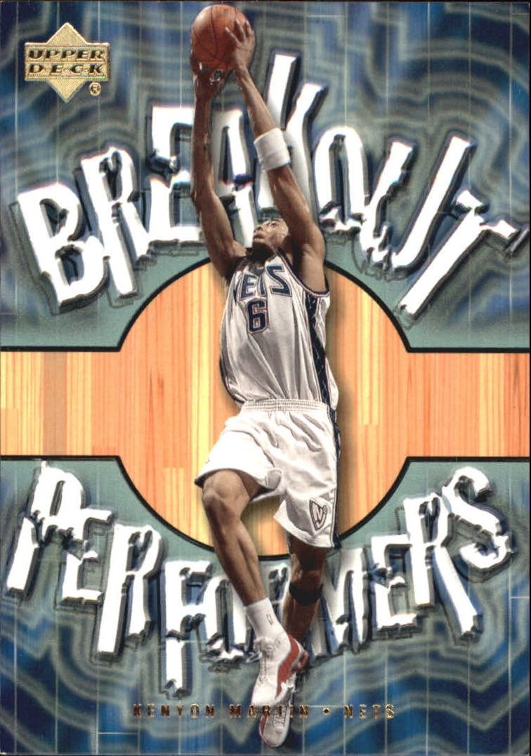 2001-02 Upper Deck Breakout Performers #BP1 Kenyon Martin