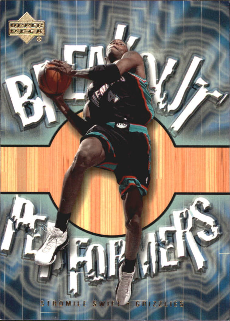 2001-02 Upper Deck Breakout Performers #BP3 Stromile Swift