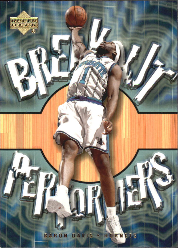 2001-02 Upper Deck Breakout Performers #BP4 Baron Davis