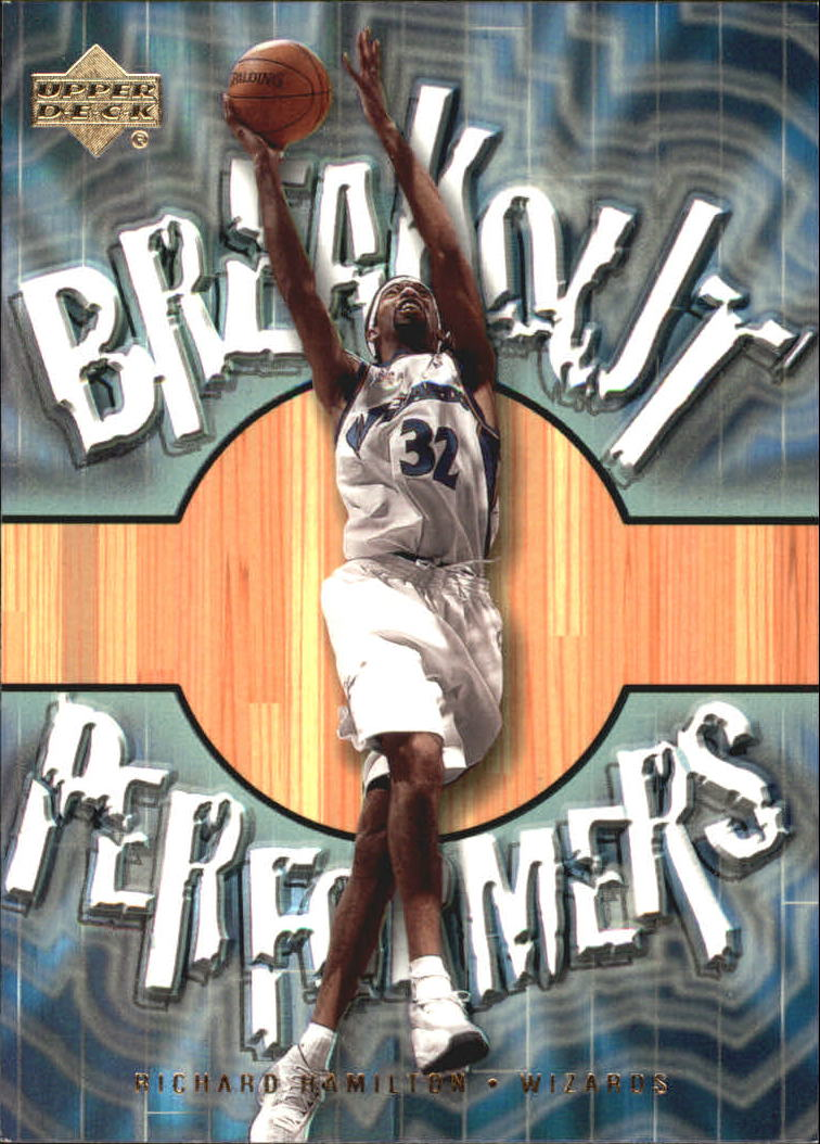 2001-02 Upper Deck Breakout Performers #BP7 Richard Hamilton