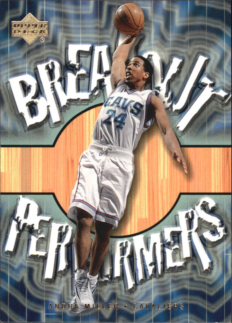 2001-02 Upper Deck Breakout Performers #BP10 Andre Miller