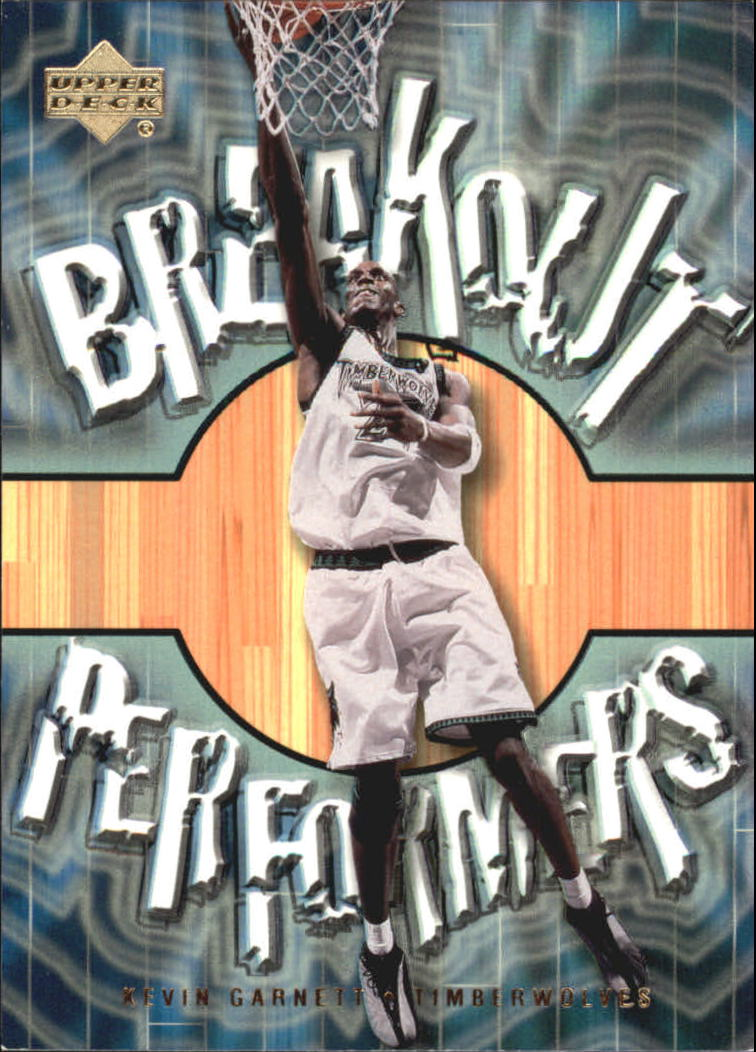 2001-02 Upper Deck Breakout Performers #BP11 Kevin Garnett