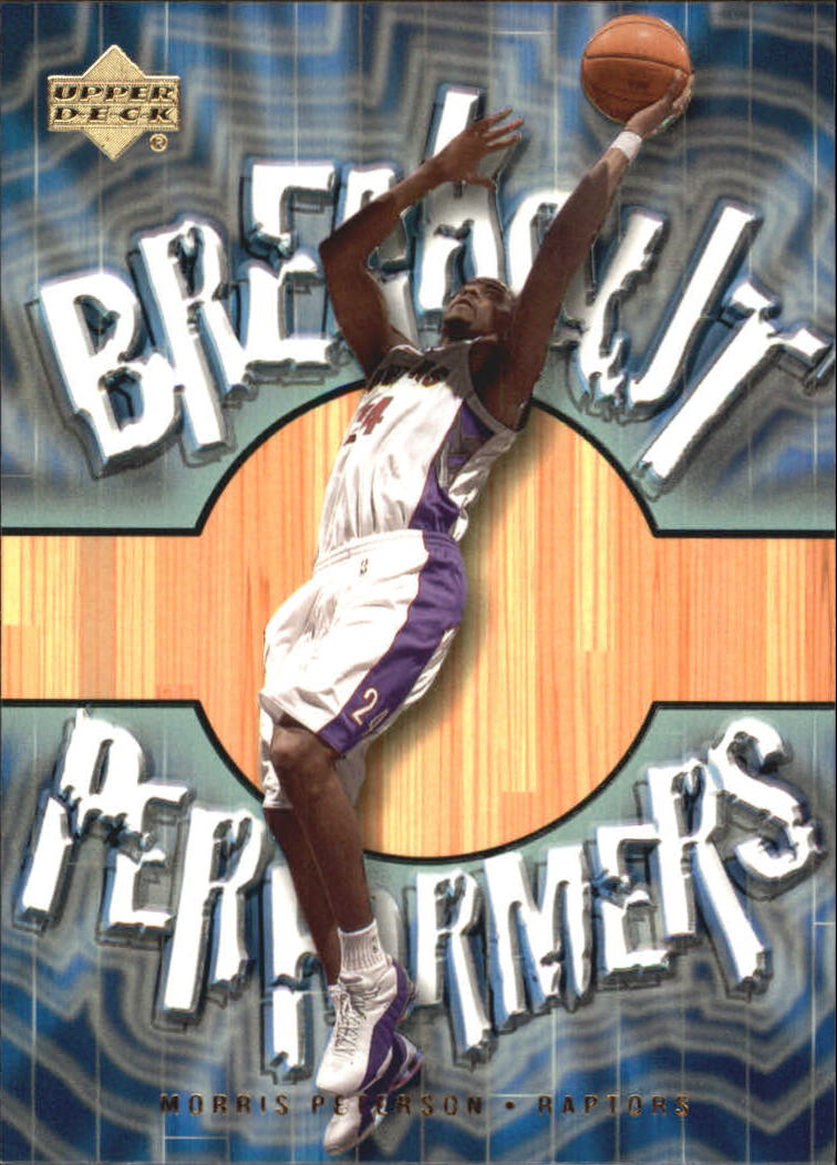 2001-02 Upper Deck Breakout Performers #BP12 Morris Peterson