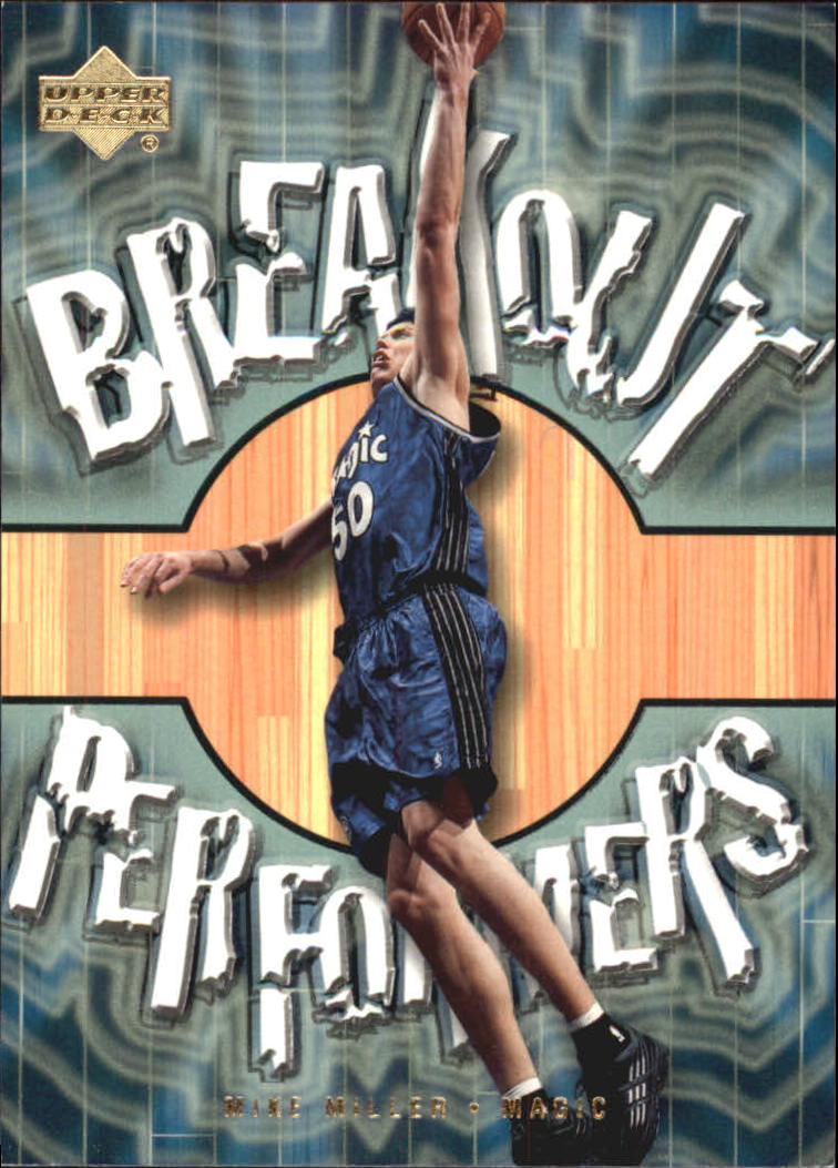 2001-02 Upper Deck Breakout Performers #BP14 Mike Miller