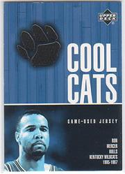 2001-02 Upper Deck Cool Cats Jerseys #RMC Ron Mercer