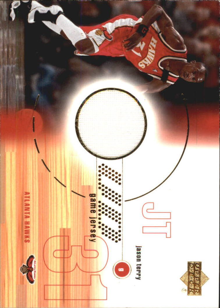 2001-02 Upper Deck Game Jerseys #JT Jason Terry