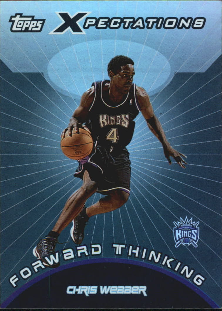 2001-02 Topps Xpectations Forward Thinking #FT1 Chris Webber