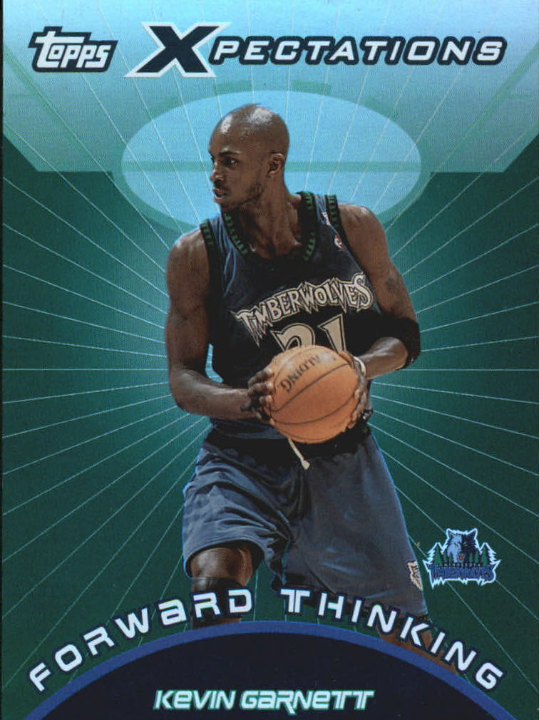 2001-02 Topps Xpectations Forward Thinking #FT2 Kevin Garnett