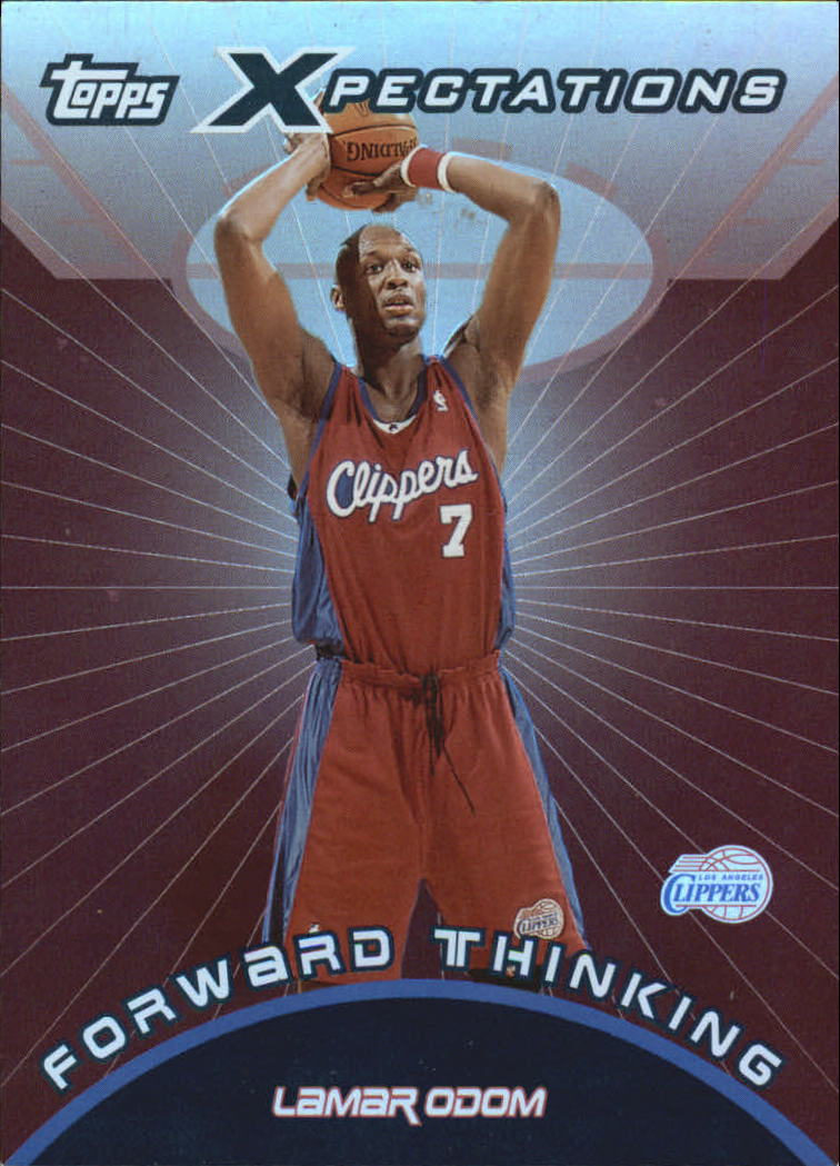 2001-02 Topps Xpectations Forward Thinking #FT3 Lamar Odom