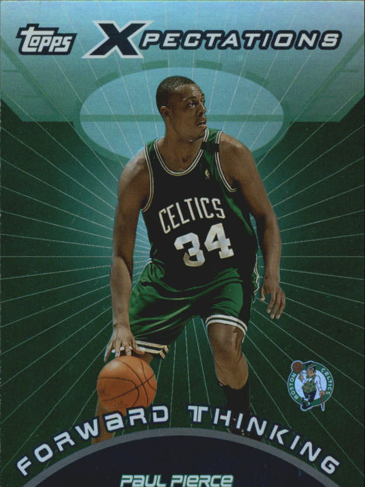 2001-02 Topps Xpectations Forward Thinking #FT7 Paul Pierce