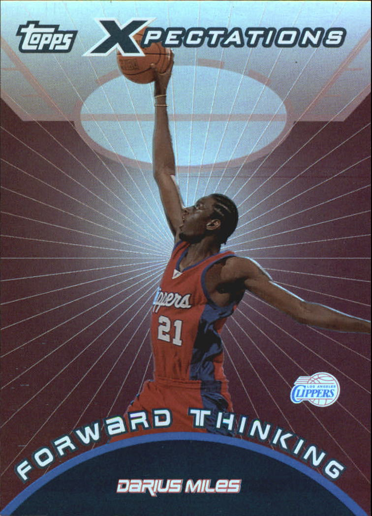 2001-02 Topps Xpectations Forward Thinking #FT10 Darius Miles