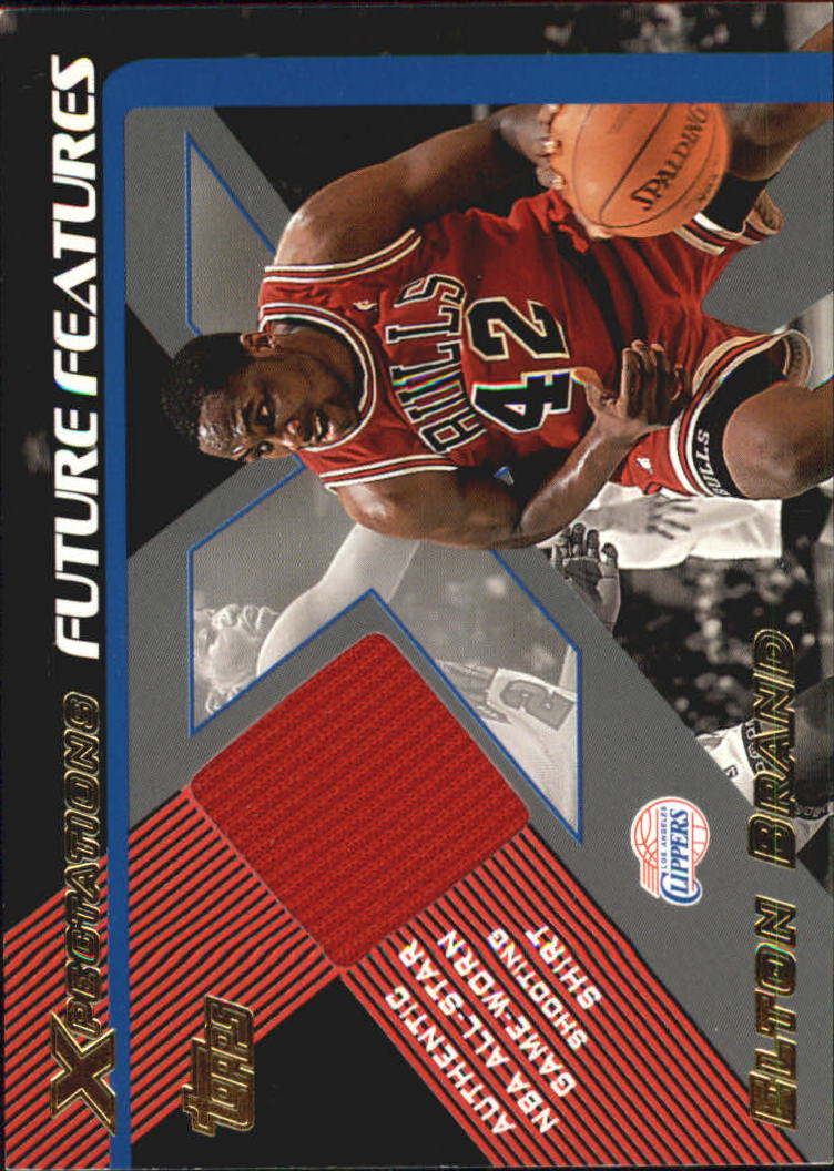 2001-02 Topps Xpectations Future Features #FFEB Elton Brand
