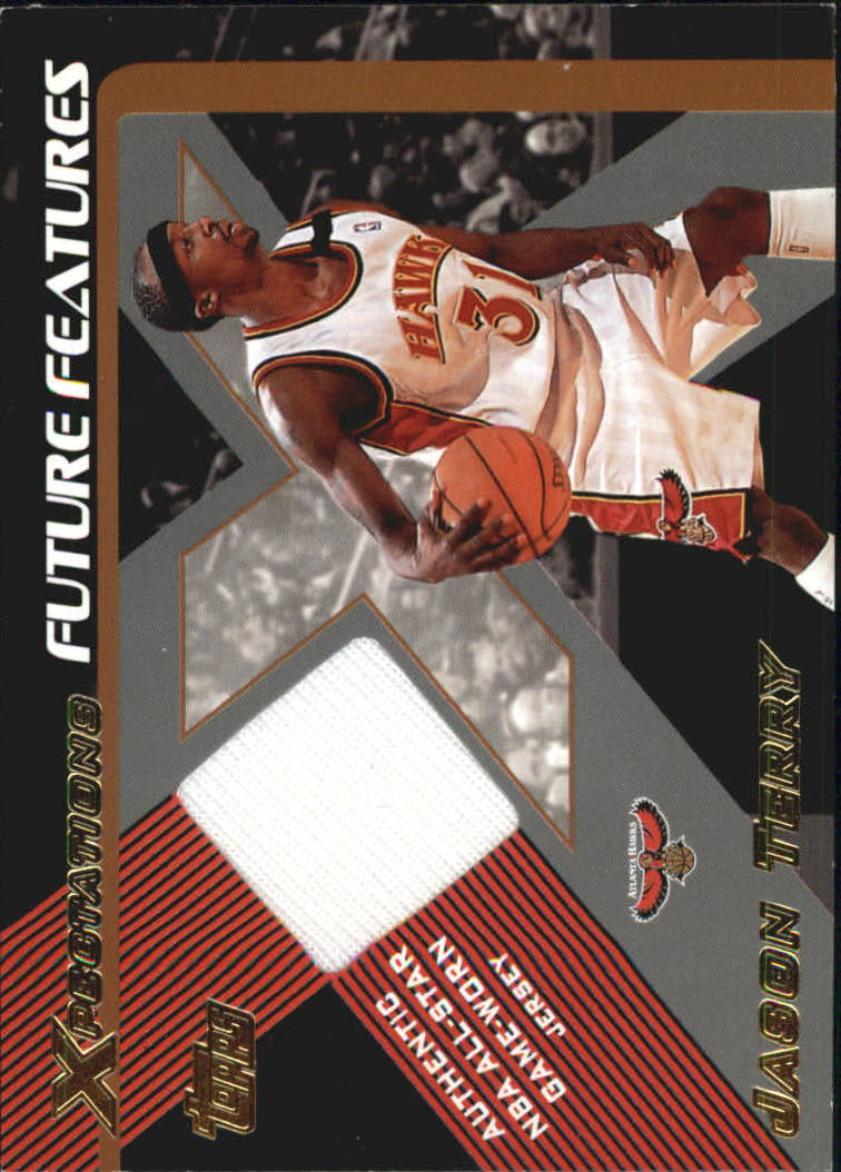 2001-02 Topps Xpectations Future Features #FFJT Jason Terry