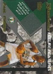 2001-02 Topps Xpectations Future Features #FFPP Paul Pierce