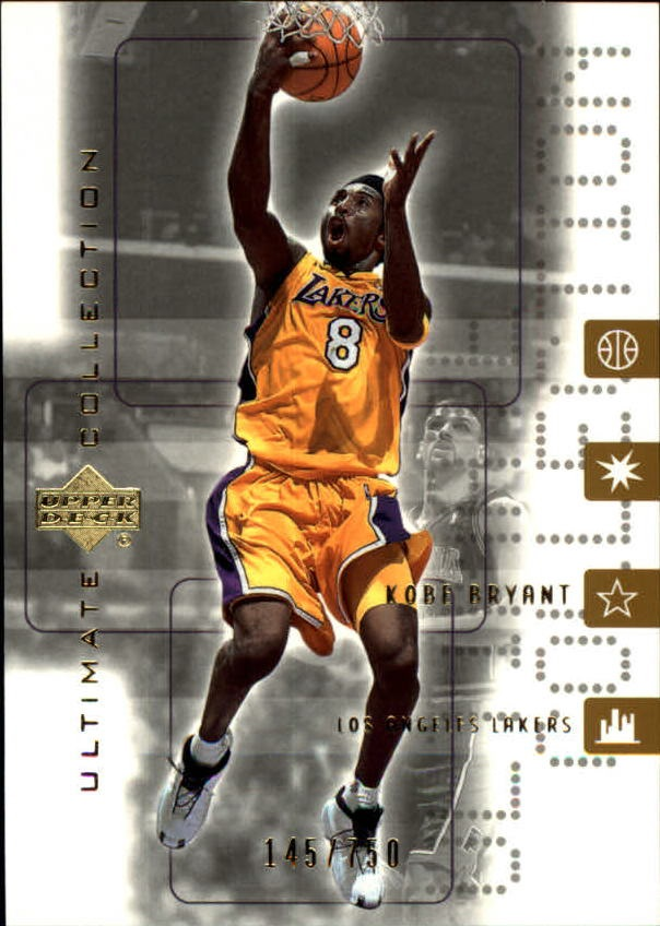2001-02 Ultimate Collection #25 Kobe Bryant