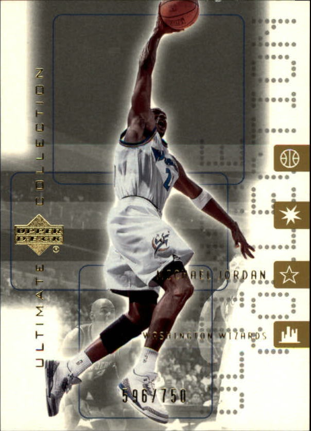 2001-02 Ultimate Collection #60 Michael Jordan