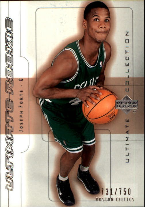 2001-02 Ultimate Collection #70 Joseph Forte RC