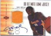 2001-02 Ultimate Collection BuyBacks #56 Kobe Bryant/00-1UltColJsyBrz/27