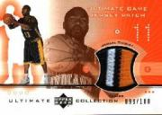 2001-02 Ultimate Collection Jerseys Patches #JTP Jamaal Tinsley