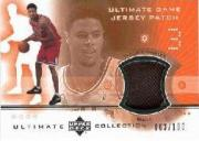 2001-02 Ultimate Collection Jerseys Patches #TCP Tyson Chandler