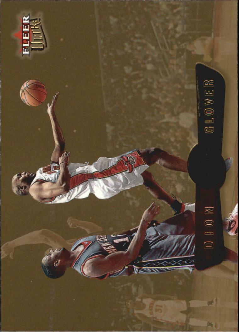 2001-02 Ultra Gold Medallion #121 Dion Glover