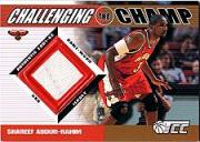 2001-02 Topps TCC Challenging the Champ #CCSA Shareef Abdur-Rahim