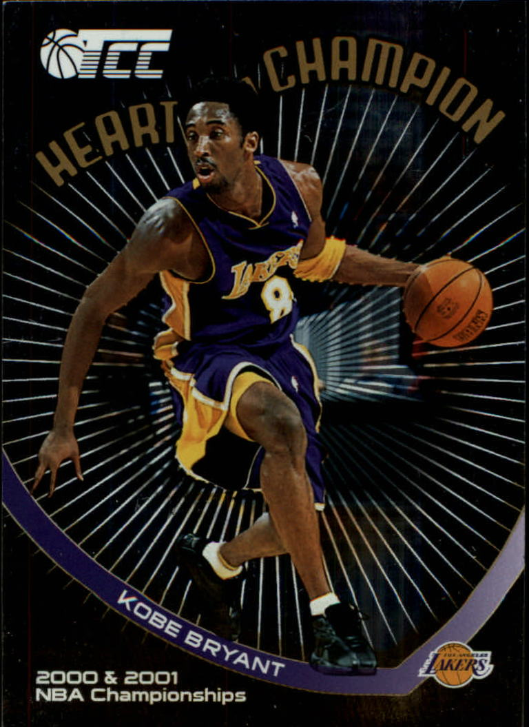 2001-02 Topps TCC Heart of a Champion #HC7 Kobe Bryant