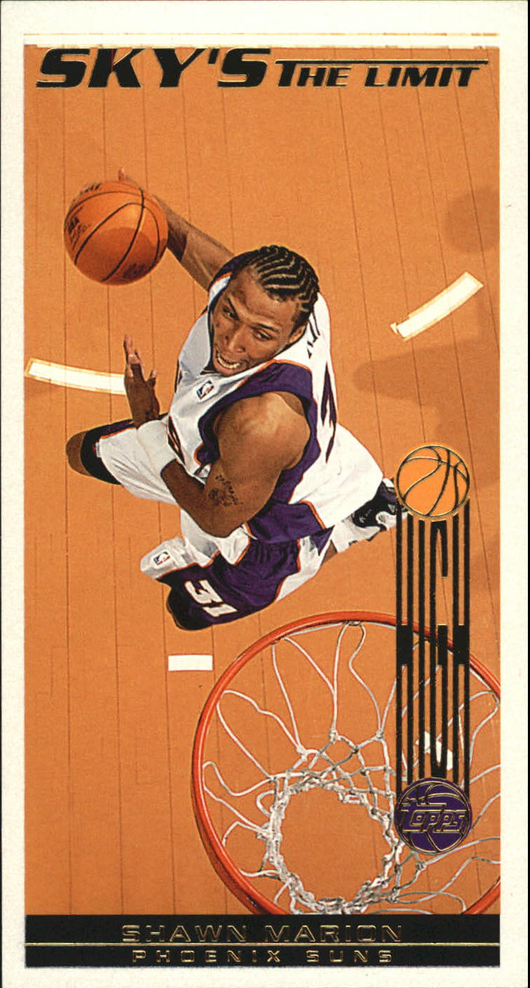 2001-02 Topps High Topps Sky's The Limit #SL7 Shawn Marion
